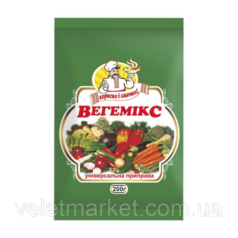 Приправа універсальна з овочів Огородник Вегемікс 200 г (4820079242004)