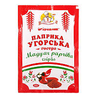 Паприка угорська червона гостра Огородник мелена 80 г (4820079241670)