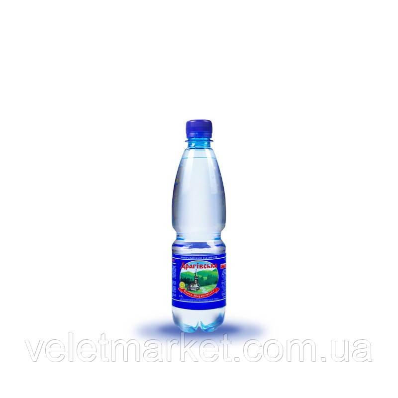 Вода мінеральна Драгівська Шаянські мінеральні води газована 0.5 л (4820026950044)