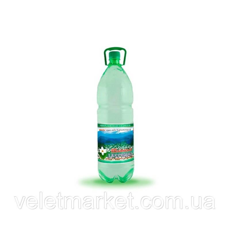 Вода питна Шаянська Джерельна Шаянські мінеральні води газована 2 л (4820026950679)