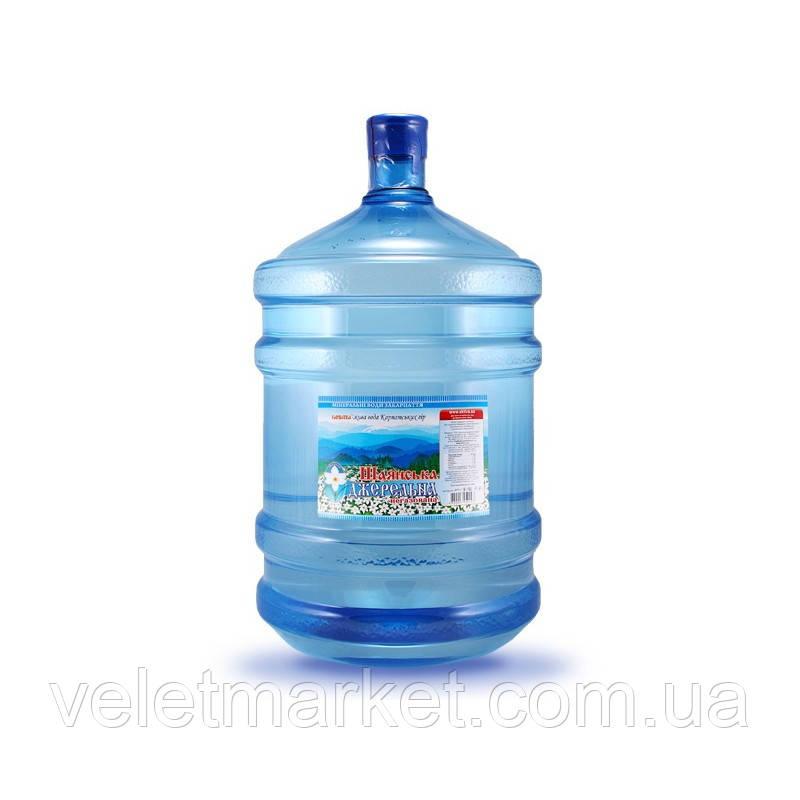 Вода питна Шаянська Джерельна Шаянські мінеральні води негазована 18.9 л - Без бутля