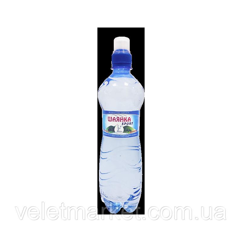 Вода мінеральна Шаянка Sport Шаянські мінеральні води негазована 0,75 л (4820026950693)
