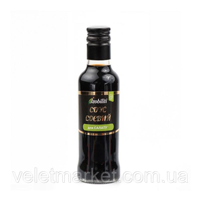 Соус Izobiliti соєвий для салату 200г ск/б для суші (4820172440680)