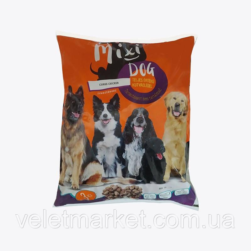 Корм Mixi dog сухий для собак з куркою 3 кг (5999886167080)
