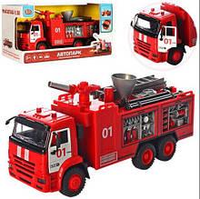 """Машинка Автопарк """"Пожарная машина"""" (брызгает водой) арт. 9624"""