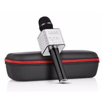Микрофон для караоке беспроводной (ЧЕРНЫЙ) арт. Q7