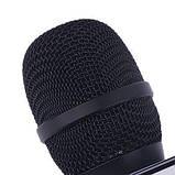 Микрофон для караоке беспроводной (ЧЕРНЫЙ) арт. Q7, фото 5