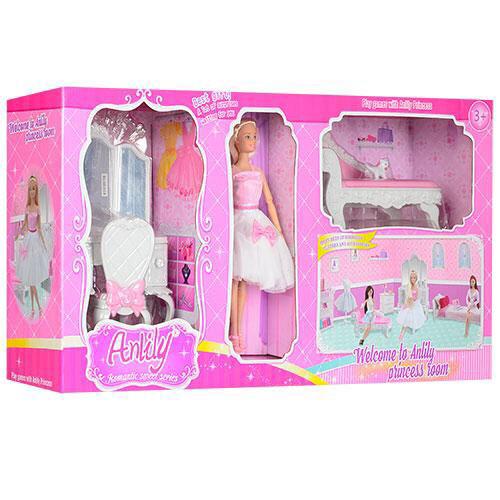 Набор мебели с куклой Anlily арт. 99045