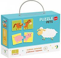 Пазл DoDo Любимые Животные 300115 Развивающие пазлы для детей!