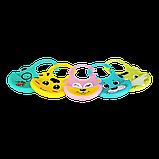 Слюнявчик силиконовый Zupo Crafts розовый, фото 4