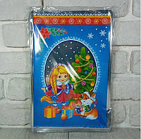 Новогодние пакеты для конфет и подарков (20*30) №01 новый, 100 шт\пач