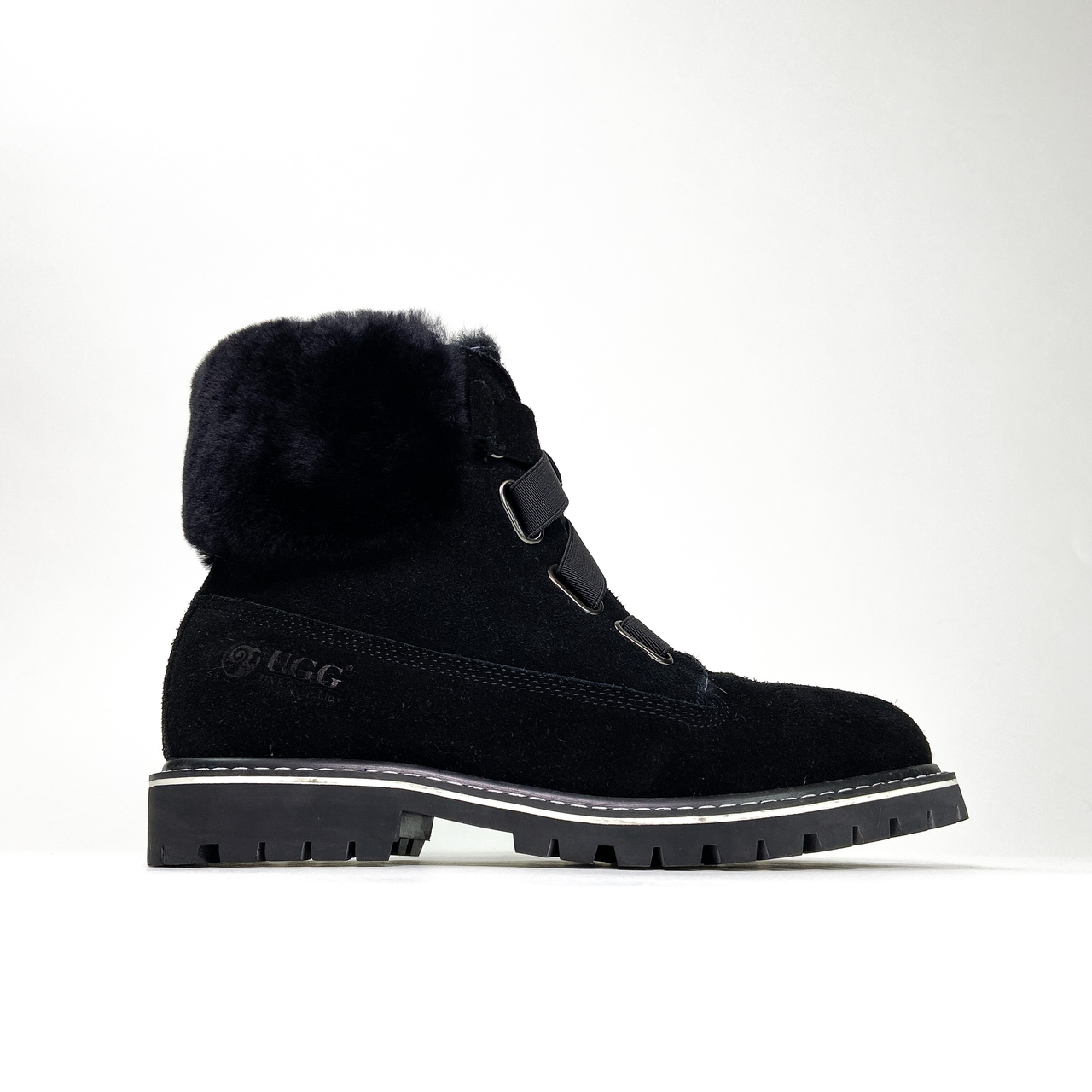 Ugg Boot Fur Black (Черный)