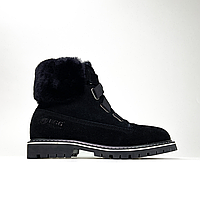 Ugg Boot Fur Black (Черный), фото 1
