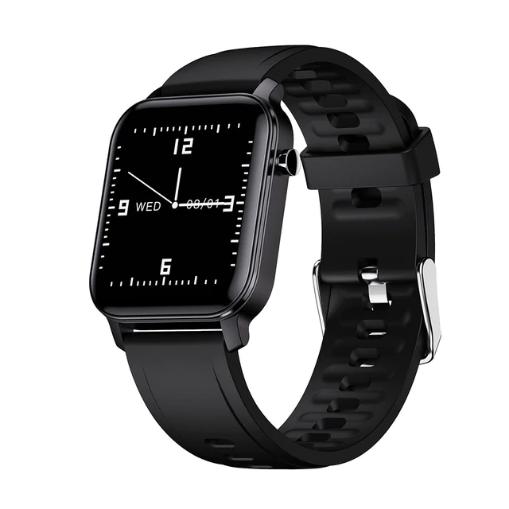 Смарт-часы HerzBand M2 с измерением кислорода в крови и спорт функциями - Черный