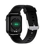 Смарт-часы HerzBand M2 с измерением кислорода в крови и спорт функциями - Черный, фото 4