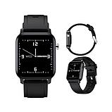 Смарт-часы HerzBand M2 с измерением кислорода в крови и спорт функциями - Черный, фото 5