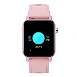 Смарт-часы HerzBand M2 с измерением кислорода в крови и спорт функциями - Розовый, фото 7