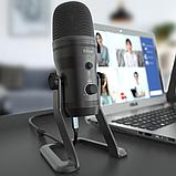 Fifine K690 USB микрофон с настройкой направленности - Черный, фото 8