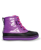 Ботинки демисезонные Crocs Allcast Duck Boots подростковые., фото 1