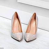 Роскошные жемчужные розовые женские туфли шпилька на праздник, фото 3