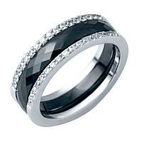 Серебряное кольцо DreamJewelry с керамикой (1214503) 18 размер, фото 1