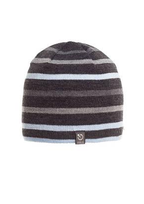 Красивая удобная теплая мужская  шапка в полоску., фото 2