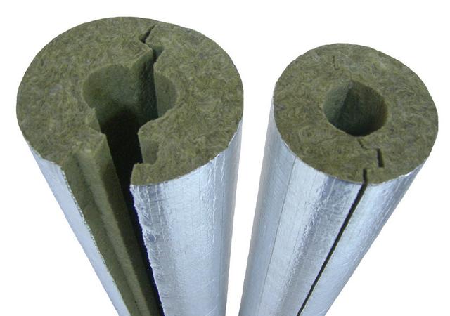 Базальтовая скорлупа, базальтовые цилиндры с фольгой