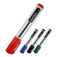 Маркер для сухостираемых досок круглый, 2 мм. круглый, красный