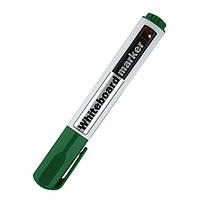 Маркер для сухостираемых досок круглый, 2 мм. круглый, зеленый