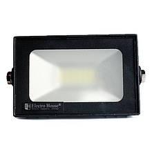 Прожектор LED 20W 6000K 1800Lm IP65 ElectroHouse EH-LP-206