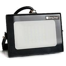 Прожектор LED 30W 6000K 2700Lm IP65 ElectroHouse EH-LP-207