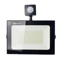 Прожектор LED з датчиком руху 50W 6500K 4500Lm IP65 ElectroHouse EH-LP-214