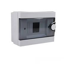 Бокс пластиковий модульний для зовнішньої установки на 2-6 модулів ElectroHouse EH-BM-005