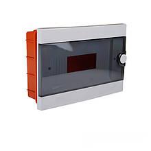 Бокс пластиковий модульний для внутрішньої установки на 12 модулів ElectroHouse EH-BM-013