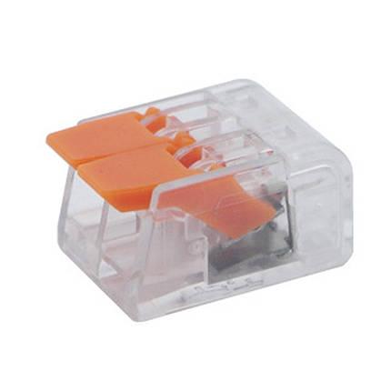 Коннектор на два контакта (450В, 32А) самозажимный ElectroHouse EH-CONN-01T, фото 2