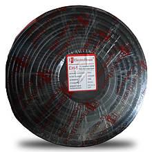 Телевізійний (коаксіальний) кабель RG-6U CCS 1,02 Cu чорний ПВХ ElectroHouse EH-5