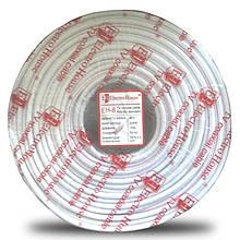 Телевізійний (коаксіальний) кабель RG-6U Cu 1,02 Cu білий ПВХ ElectroHouse EH-8