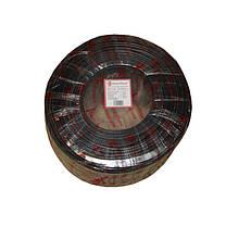 Телевізійний (коаксіальний) кабель з харчуванням RG-6U CCS 1,02 Cu гермет. фольга чорний ПВХ ElectroHouse EH-14