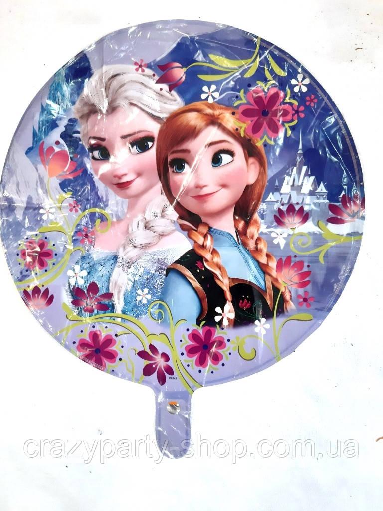 Фольгированый шар  Холодное сердце