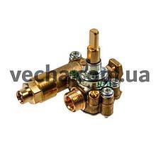 Кран газовый средней горелки (с клапаном) для варочной панели Electrolux