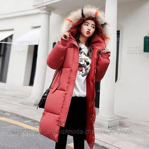 """Зимняя теплая женская куртка на синтепоне """"Jacket"""""""