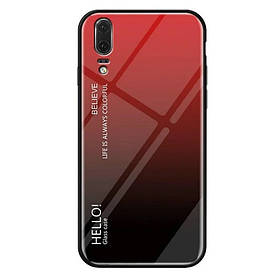 Чехол Gradient Hello для Huawei P20
