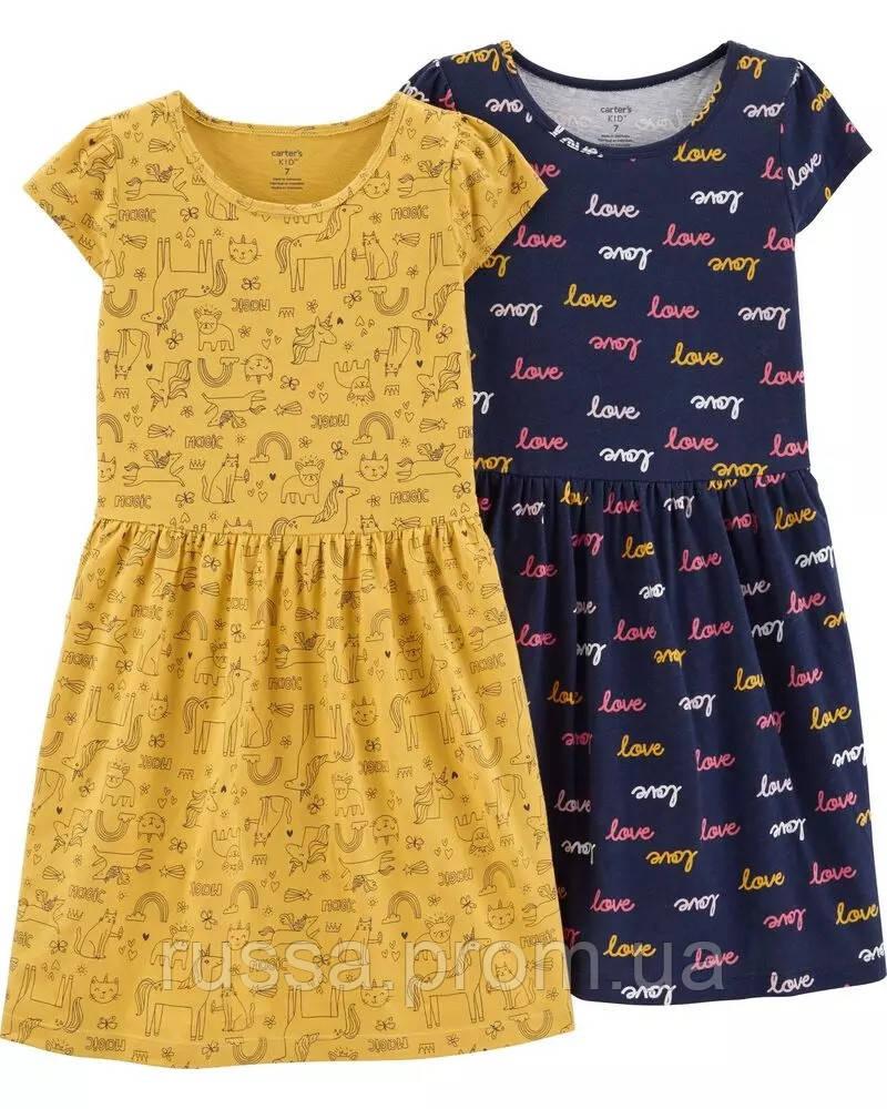 Летние платья с пышной юбочкой Картерс для девочки (поштучно)