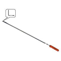 Шампур угловой c деревянной ручкой 450 мм СКАУТ 86-728