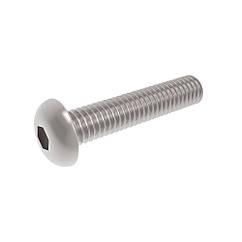 Винт Полукруглая(Головка)с Внутренним Шестигранником М3 * 10 мм/100 шт 10.9 ЦБ ISO7380-1