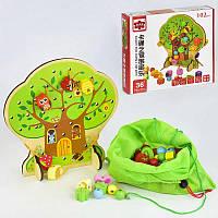 Деревянная шнуровка Дерево C 31337 (40) в коробке
