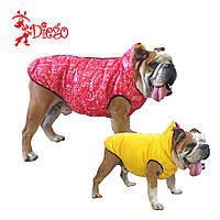 Жилет для собаки двосторонній DIEGO sport double 7/10 Піфагор червоний, розмір 7
