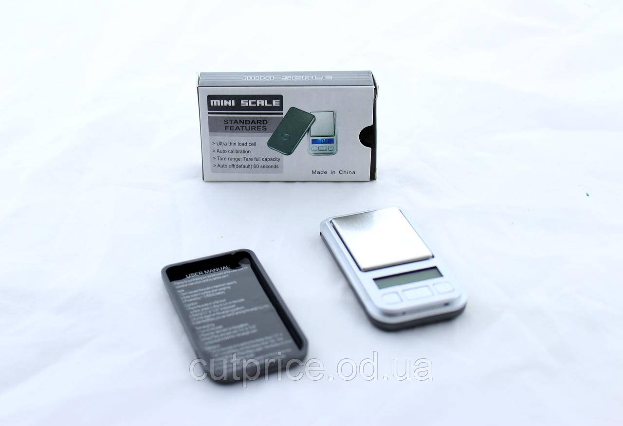 Весы ACS 200gr. Min/398i 0,01 200) в уп.50 шт.