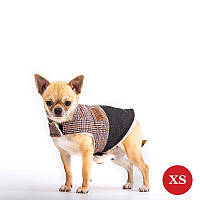 Жилет для собак DIEGO Vest Print 1 коричневый, размер XS