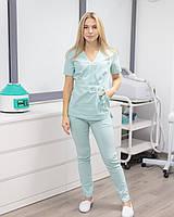 Медицинский костюм Рио мятный, фото 1
